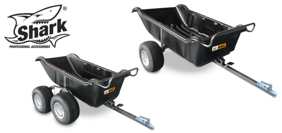 SHARK - ATV trailer Garden 550/680