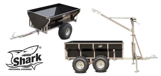 SHARK - Heavy duty trailers Wood series